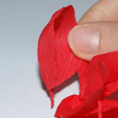 Тюльпаны в корзинке своими руками